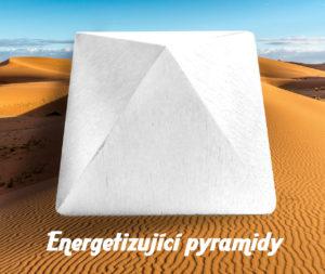 Pyramida bílá energetizující
