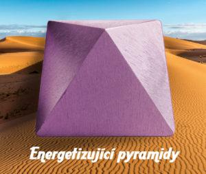 Pyramida fialová energetizující