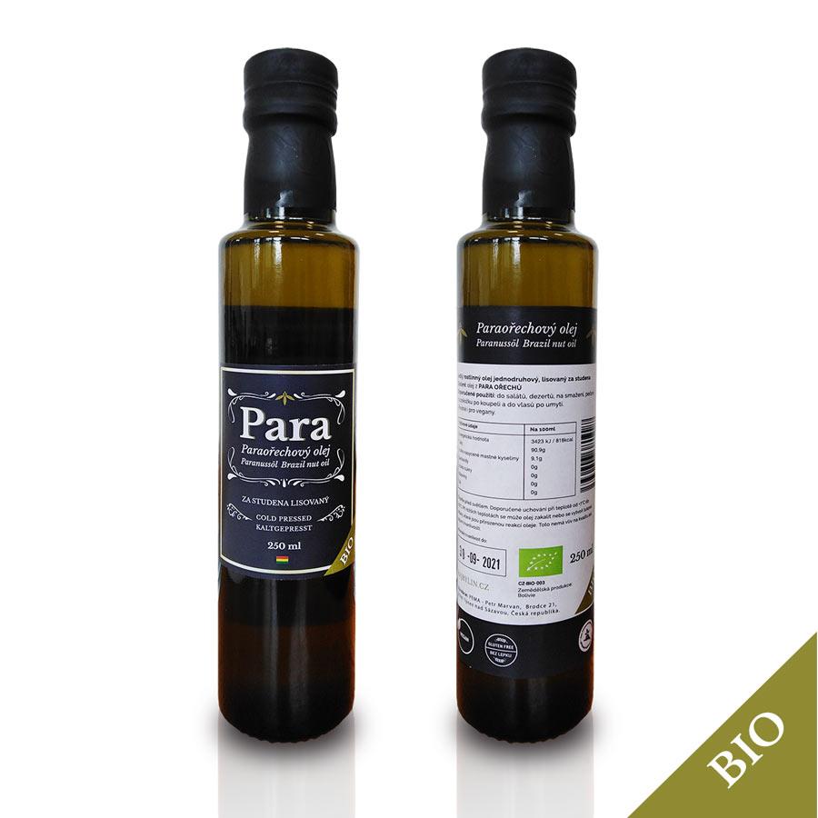 PARA ořechový olej Bio